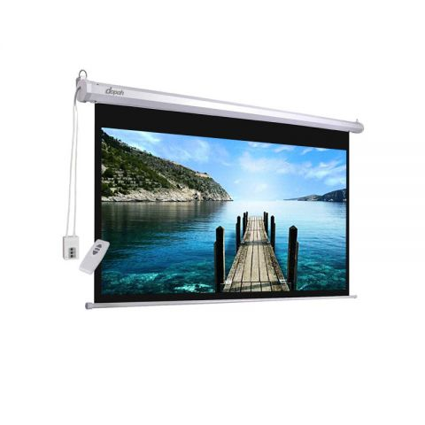 "Dopah Motorized/Electric Projection Screen 120"" X 120"""