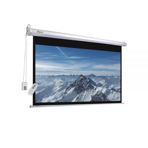 "Dopah Motorized/Electric Projection Screen 84"" X 84"""