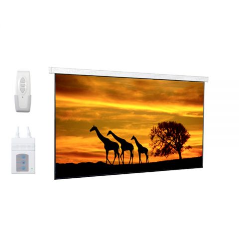 "DP Motorized/Electric Projection Screen 119""D (58.3"" x 103.7"")"