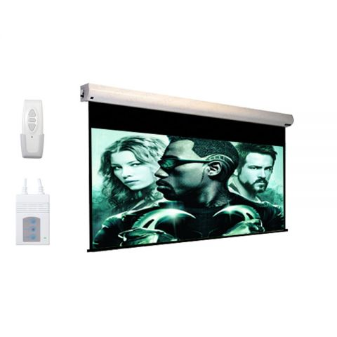 "DP Motorized/Electric Projection Screen 108"" x 144"""