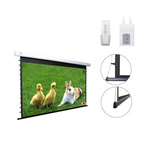 DP Tab-Tension Motorized/Electric Projection Screen