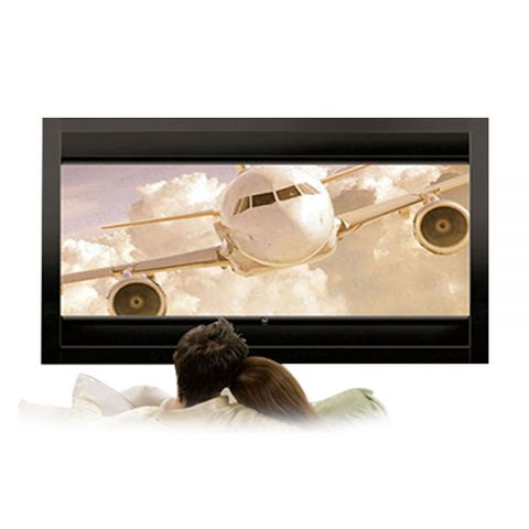 Grandview Dual-Format Fixed Frame Screen