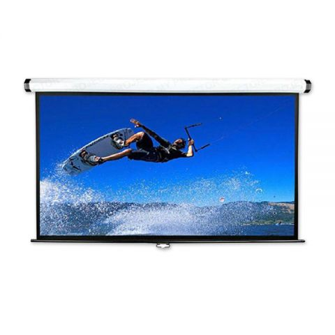 "Meki EZ Wall Screen Matt White 90"" x 120"" (150""D)"