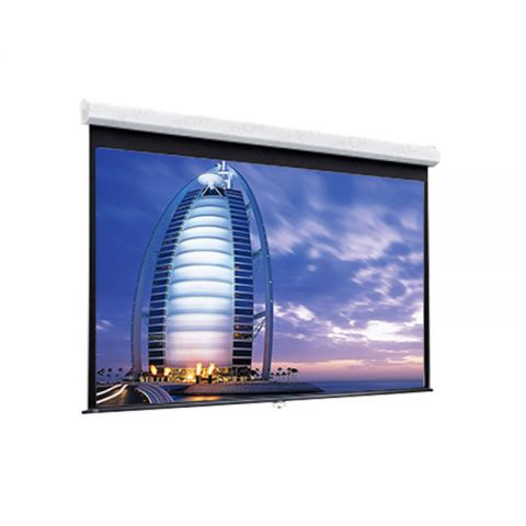 Unic Manual Wall Screen WMB-150D (7.6' x 10')