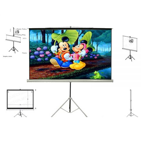 Unic Tripod Screen TMS-180 (6' x 6')