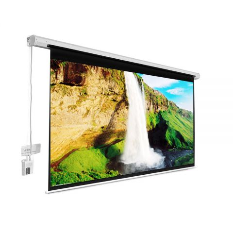 "Venova Motorized Projection Screen 192"" x 192"""