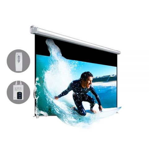 "Venova Motorized Projection Screen 45.1"" x 80.2"" (92""D)"