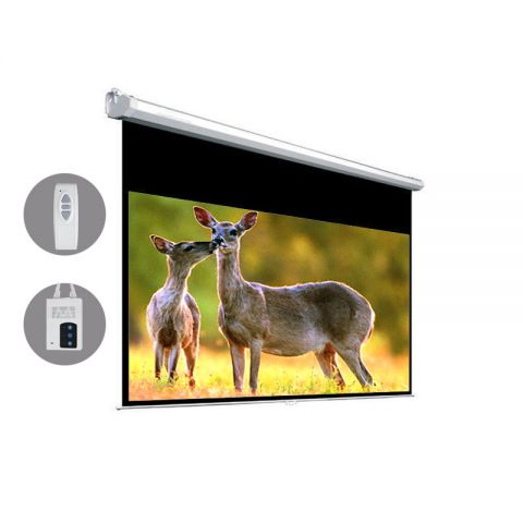 "Venova Motorized Projection Screen 58.3"" x 103.7"" (119""D)"