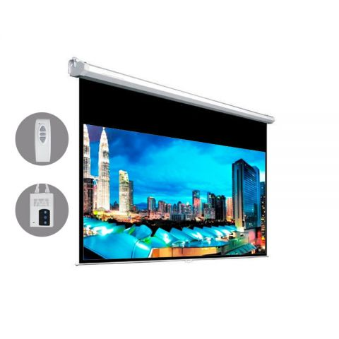 "Venova Motorized Projection Screen 65.2"" x 115.9"" (133""D)"