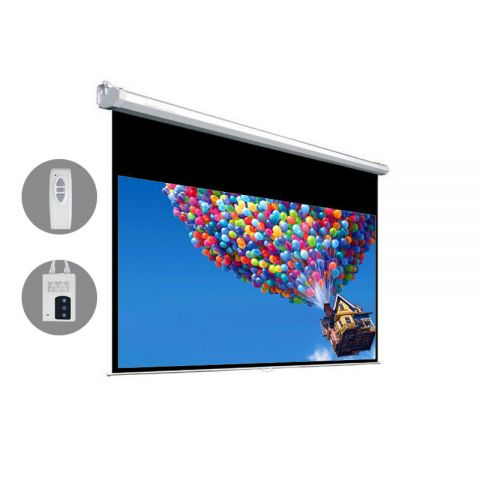 "Venova Motorized Projection Screen 73.1"" x 131.6"" (151""D)"