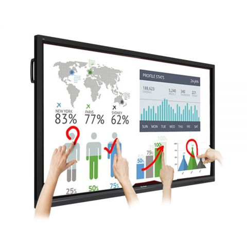 "ViewSonic IFP5550 55"" 4K Ultra HD ViewBoard Interactive Flat Panel"